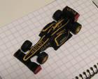 Tilaustyönä tehty formula Lotus e20, 2013
